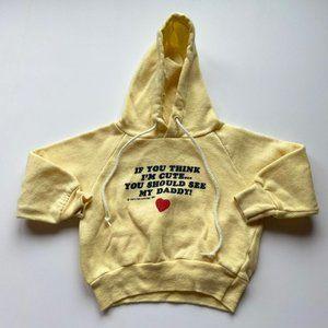 Vintage 80's toddler hoodie
